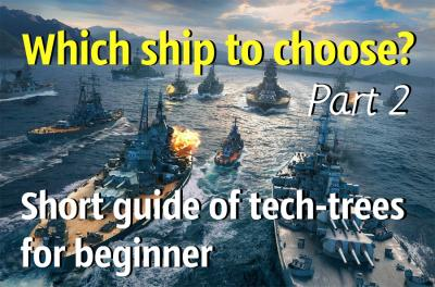 Warship Types - Which ship to choose?