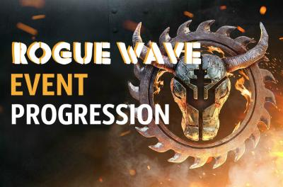 ROGUE WAVE EVENT PROGRESSION