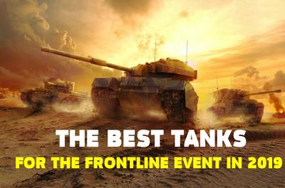 The best tanks for the Frontline event in 2019