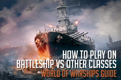 How to play on battleships against ships of other classes