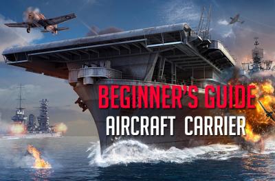 Wie spielt man auf einem Flugzeugträger in World of Warships?