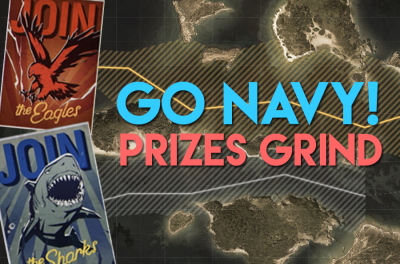 Go Navy! Prizes Grind