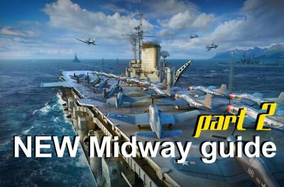 NEW Midway, part 2. Guide for American aircraft carrier level X
