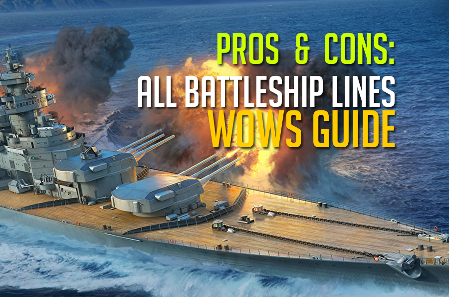 Which first battleship line to choose for grinding in World of Warships