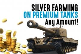 Silver Grind on Premium Tanks