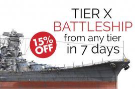 Holen Sie sich Top Tier Schlachtschiff von jedem Tier in 7 Tagen
