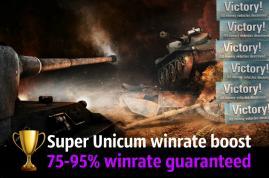 SUPER UNICUM WINRATE BOOST!