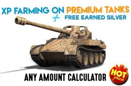 XP FARMING ON PREMIUM TANKS