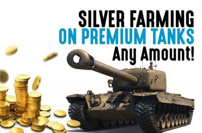 Silver Grind auf Premium Panzern