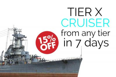 Get Top Tier Cruiser from Any Tier in 7 days