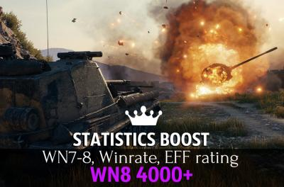 Statistic boost WN8 4000+