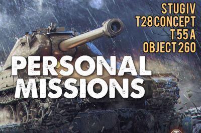 PERSÖNLICHE MISSIONEN