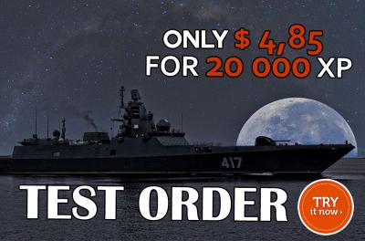 TEST ORDER - TRY OUR WOWS SERVICES