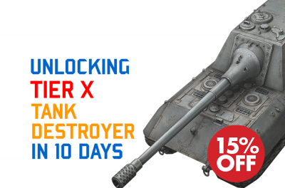 FAST BOOST: TIER X TANK DESTROYER