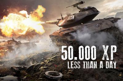50 000 XP (in weniger als einem Tag)