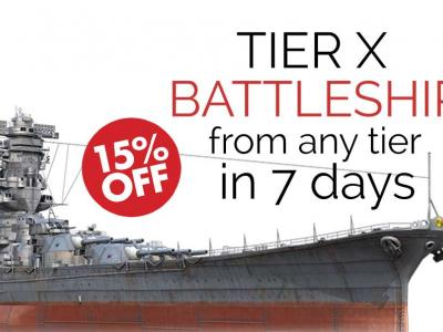 Get Top Tier Battleship from Any Tier in 7 days