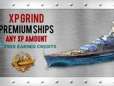 XP FARMING ON PREMIUM SHIPS