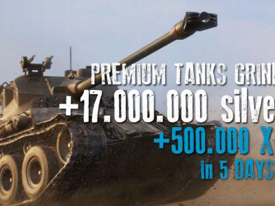500.000 XP on PREMIUMS + 17.000.000 Silver