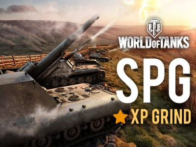 SPG XP GRIND - WOT ANY XP AMOUNT