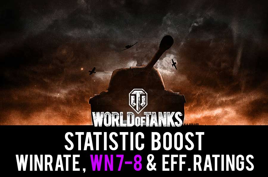 Improve winrate and WN8 rating. Easy WOT stats boost.