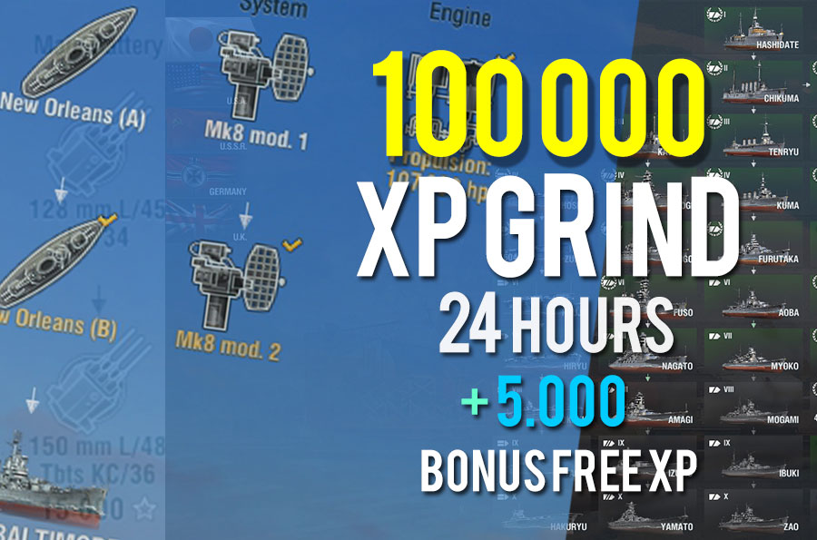 100.000 XP PACK